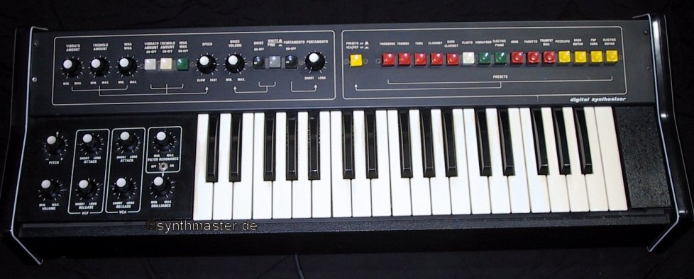 synthesizer excelsior